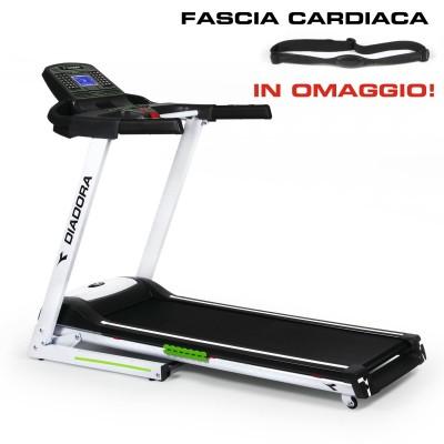 Tapis roulant Diadora Exess 5.6 più Fascia toracica