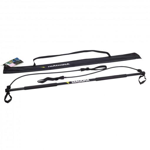 Barra aerobica flessibile in fibra di carbonio Diadora