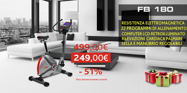 Promo Cyclette Fassi FB 180