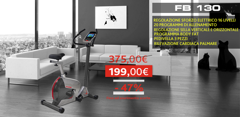 Promo Cyclette Fassi FB 130