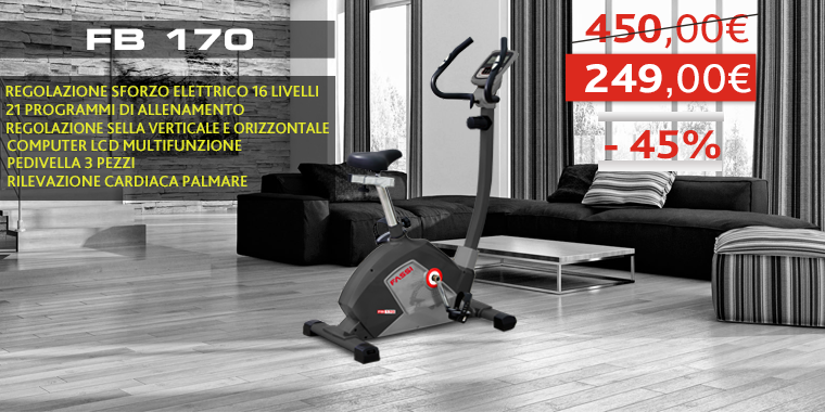 Promo Cyclette Fassi FB 170
