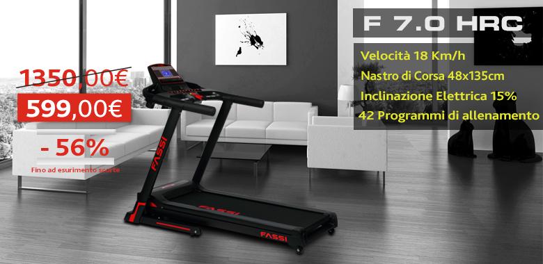 Promo Tapis Roulant Fassi F 7.0