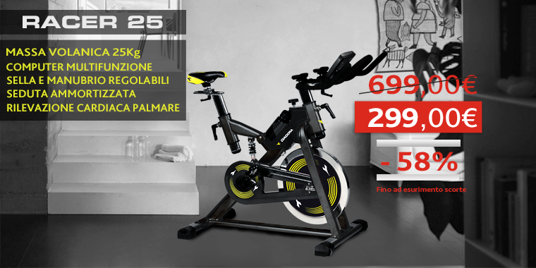 Promo Spin Bike Racer 25
