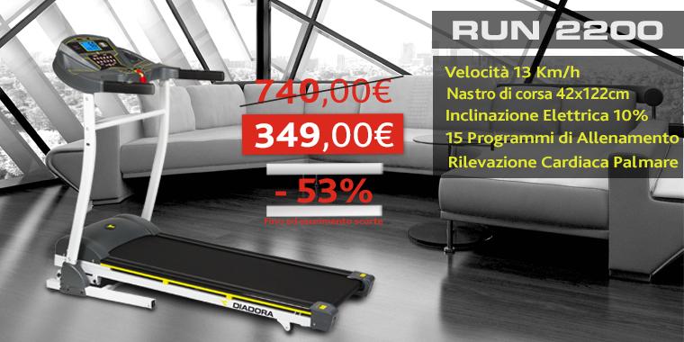 Promo Tapis Roulant Run 2200