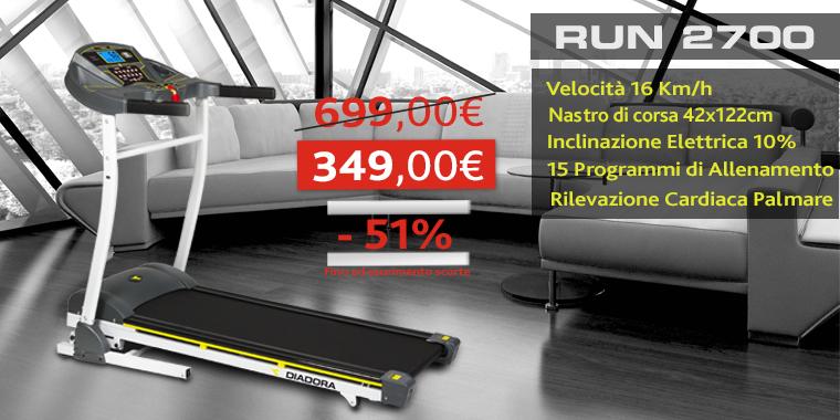Promo Tapis Roulant Diadora Run 2700