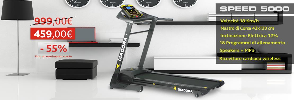 Offerta Tapis Roulant Diadora Speed 5000
