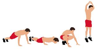 Diadora esercizi estate