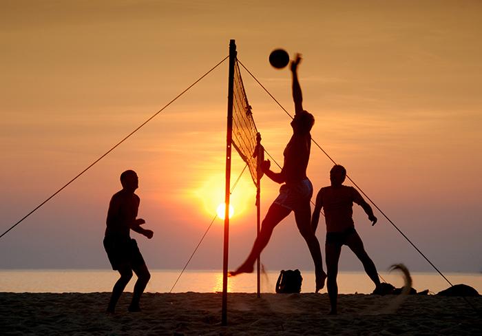 anche con il caldo costanza e determinazione beach volley