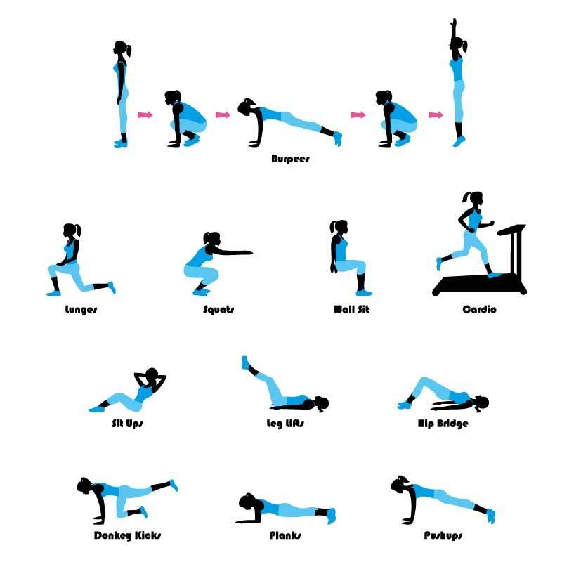allenamento a corpo libero a casa diadora fitness. Black Bedroom Furniture Sets. Home Design Ideas