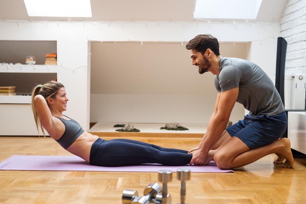 Fare fitness con il proprio partner può dare buoni risultati