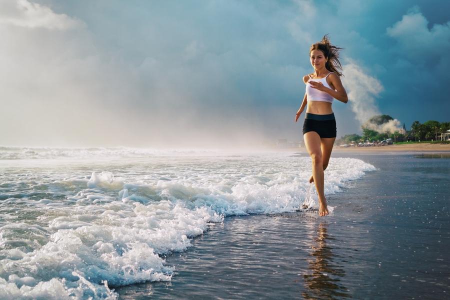 Esercizi estate mare